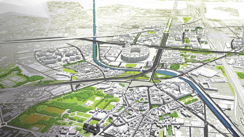 Développement urbain de l'agglomération et de ses villes